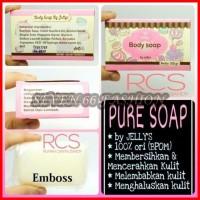 [ BPOM ] Pure Soap By Jellys ~ MEMUTIHKAN DAN MENGHALUSKAN KULIT TUBUH