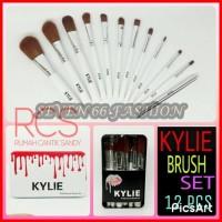 KYLIE Brush Kit 12 in 1/ Make Up Brush KYLIE Set 12 in 1 ~ KUAS WAJAH