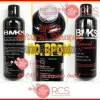 BMKS NATURAL SHAMPOO ~ SHAMPO KEMIRI ~ Shampo penumbuh rambut [BPOM ]