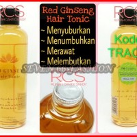 Red Ginseng Hair Tonic BPOM ~ MENYEMBUHKAN KEBOTAKAN, RAMBUR RONTOK