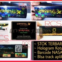 CRYSTAL X ~ CRISTAL X ~ STOK TERBARU ~ HOLO KOTAK ~ BARCODE SCAN APP