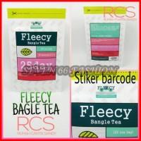 Fleecy Bangle Tea ~ Teh Pelangsing ~ 25 bag @2gr~ ADA STIKER ORIGINAL