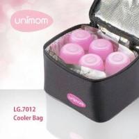 Cooler Bag Unimom - Tas Penyimpan Asi Free 5 Botol ASI + 2 Ice Gel