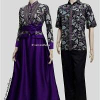 Sarimbit Batik Solo. Couple Gamis Batik Ayunda Series Murah