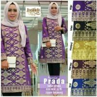Dress Batik Solo. Tunic Batik Prada Series Berkualitas
