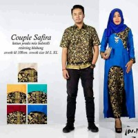 Sarimbit Batik Solo. Couple RnB Batik Safira Series Diskon