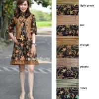 Dress Batik Solo. Dress Bolero Batik Andara Series Diskon