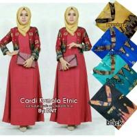 Dress Batik Solo. Cardi Batik Kumala Etnic Series Murah