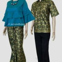 Sarimbit Batik Solo. Couple RnB Batik Zivana Ruffle Ser Diskon