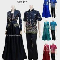 Sarimbit Batik Solo. Couple Gamis Batik Pramesthi Serie Berkualitas
