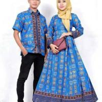 Sarimbit Batik Solo. Couple Gamis Batik Rubicca Etnic S Limited