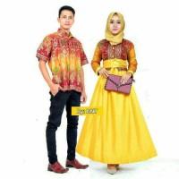 Sarimbit Batik Solo. Couple Gamis Batik Kencana Etnic S Berkualitas