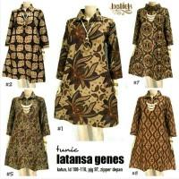 Dress Batik Solo. Tunic Batik Latansa Genes Series Limited