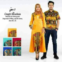 Sarimbit Batik Solo. Couple RnB Batik Mezaluna Series Limited