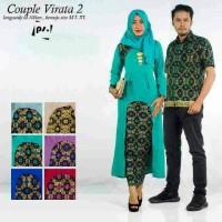 Sarimbit Batik Solo. Couple RnB Batik Virata 2 Series Diskon