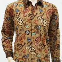 Kemeja Batik Solo. Kemeja Batik Embun Pagi Panjang Berkualitas