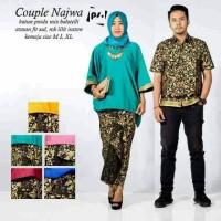 Sarimbit Batik Solo. Couple RnB Batik Najwa Series Limited