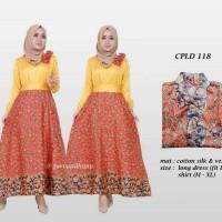 Sarimbit Batik Solo. Couple Dress Batik Sonya Series Murah