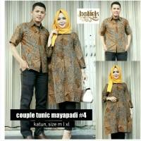 Sarimbit Batik Solo. Couple Tunic Batik Mayapadi 4 Limited