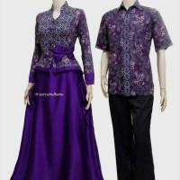 Sarimbit Batik Solo. Couple Gamis Batik Indira Series Diskon