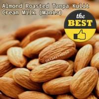 Jual Almond Kupas Creamy / butter milk ( tanpa kulit ) grosir murah jakarta Murah
