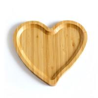 NAMPAN BAKI KAYU KECIL LOVE / HATI - E.83 | DAPUR RUMAH CAFE LUCU UNIK