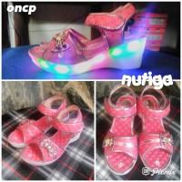 Indira Sepatu Sandal Wedges Anak Perempuan LED
