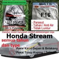 body cover sarung selimut mobil honda stream silver hitam