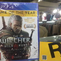 PS4 THE WITCHER 3 WILD HUNT GOTY EDITION REG 2