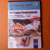 CD RPP Mapel IPA Kurikulum 2013 Revisi 2017 Untuk SMP MTs Kelas 8-VIII