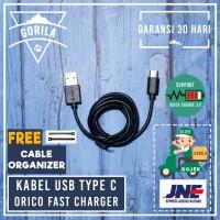 [ORICO] Kabel Data Xiaomi Tipe C USB Type C Charger Oneplus 2 LG G5