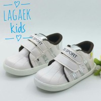 Sepatu Anak 1 2 3 4 5 Tahun Sport Putih Tembaga/sepatu Anak Sport Cute