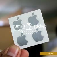 Sticker Logo Apple / iPhone untuk hp lain bisa oppo samsung xiaomi dll