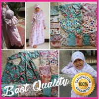 Baju Muslim Gamis Anak Perempuan Cewek Motif Lucu Branded KODA