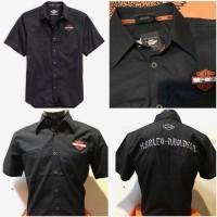 harga Kemeja Harley Davidson - Hd 04 Bar And Shield,black Tokopedia.com