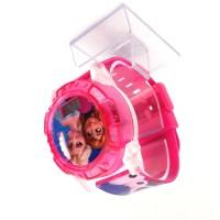 Jam tangan anak perempuan proyektor LED Suara