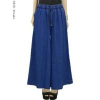 Jual celana kulot jeans / celana kullot / celana lebar wanita Murah