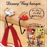 bag hanger gantungan tas mickey dan hello kitty