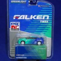 Diecast Nissan GT-R R35 Falken Skala 1:64 By Tarmac & Greenlight