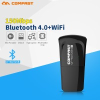 2in1 USB WiFi Adapter 150Mbps Bluetooth Receiver 4.0 Comfast CF-WU725B