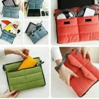 Jual Organizer Bag Android Pouch Tas Handphone Laptop Storage Dual Bag Murah