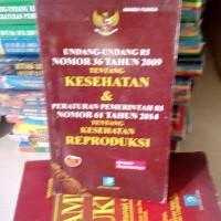 UU RI.NO.36 THN 2009 TENTANG KESEHATAN