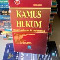 KAMUS HUKUM INTERNASIONAL & INDO