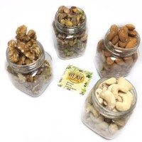 Mix Nuts 250 Gram Mix B - Almond Cashew Pistachio Walnut Mixed Nut