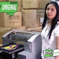 DIRECT TO GARMENT PRINTER MESIN SABLON KAOS DTG A3