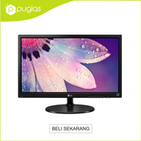 "Monitor LG LED 19"" Inch 19M38A-B For Komputer PC Computer"