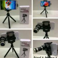 Jual Lensa Telezoom 8x Tripod Mobile Phone Murah
