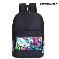 Tas Ransel Backpack Travel Korea - Motif Animasi [TN-BP-MA]