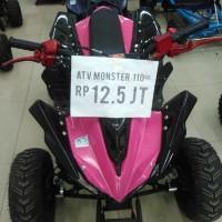 Atv Monster 4 roda 4 tak motor moto untuk dewasa kyt kawasaki yamaha h