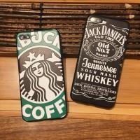 Softcase TPU Starbucks Jack Daniels Soft Case Cover Casing Iphone 6 6S